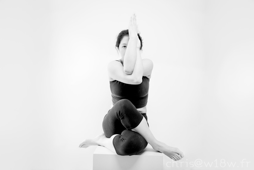 Portrait yoga